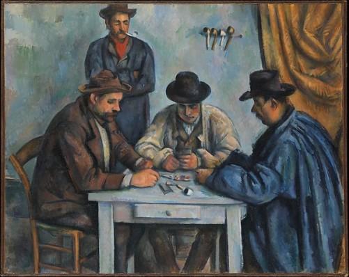 Paul Cézanne, The card players