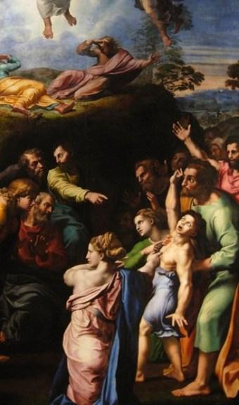 Raffaello, transfiguration
