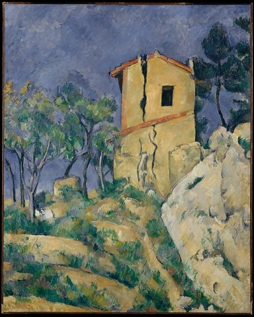 The house with the cracked walls, Paul Cézanne