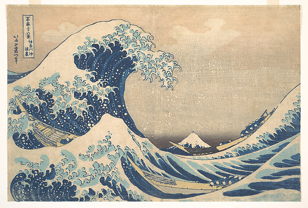 Under the wave off Kanagawa, Hokusai