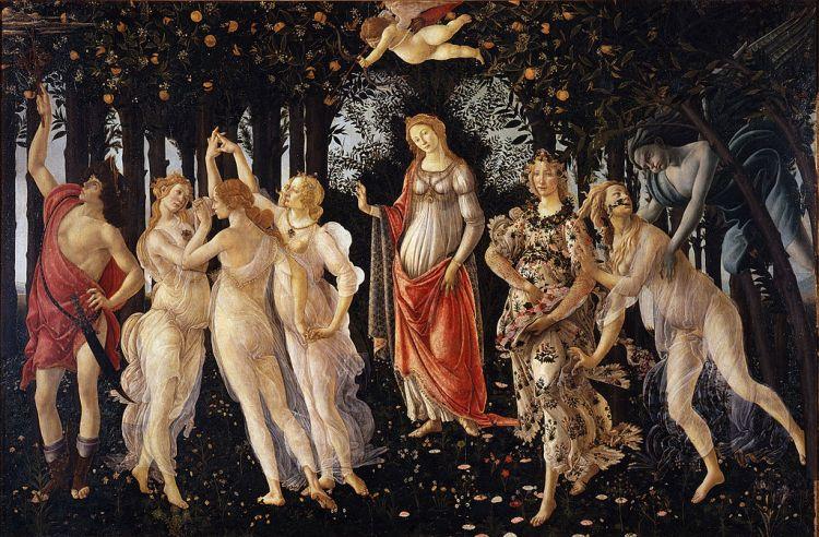 Botticelli- primavera