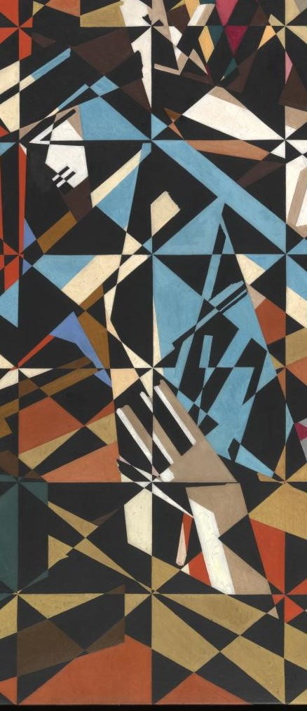 In the Hold c.1913-4 by David Bomberg 1890-1957