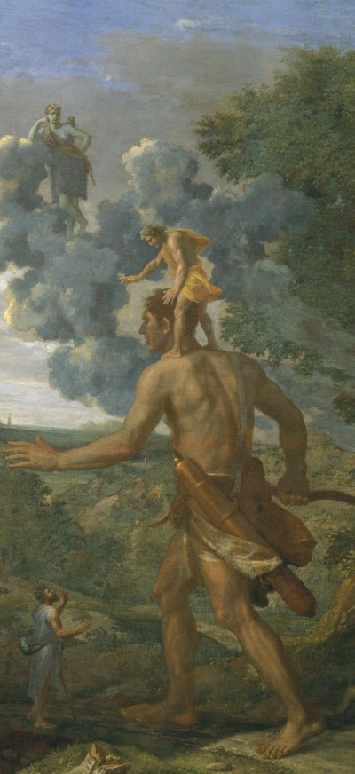 Poussin, Blind Orion searching for the rising sun