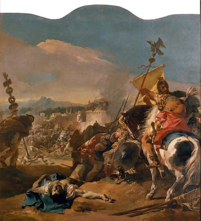 Tiepolo, the capture of Carthage