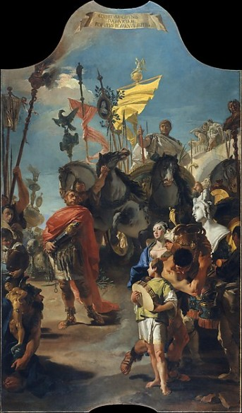 Tiepolo, the Triumph of Marius