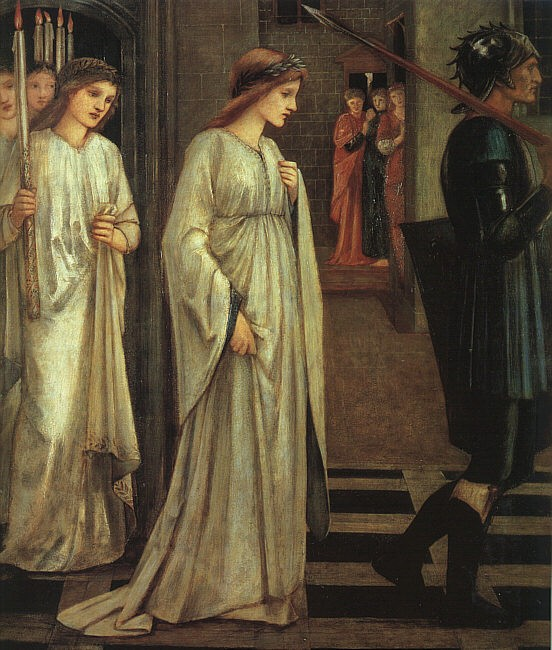 Burne-Jones, Princess Sabra led to the dragon