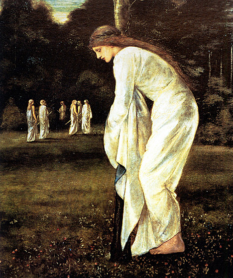 Burne-Jones, the Princess tied to a tree