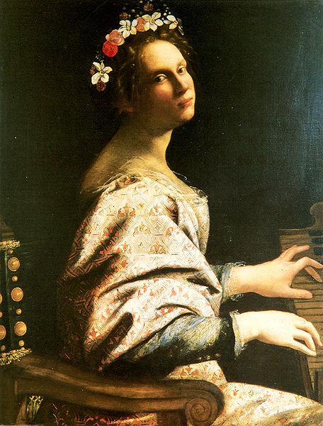 Gentileschi, St Cecilia