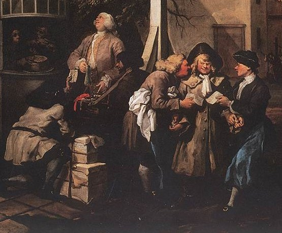 Hogarth, Soliciting votes detail