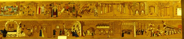 Tapestry of the Cathedral's history