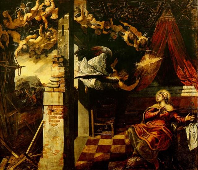 Tintoretto - Annunciation