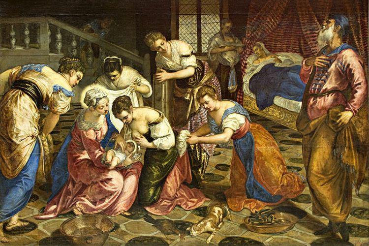 Tintoretto Birth of John the Baptist
