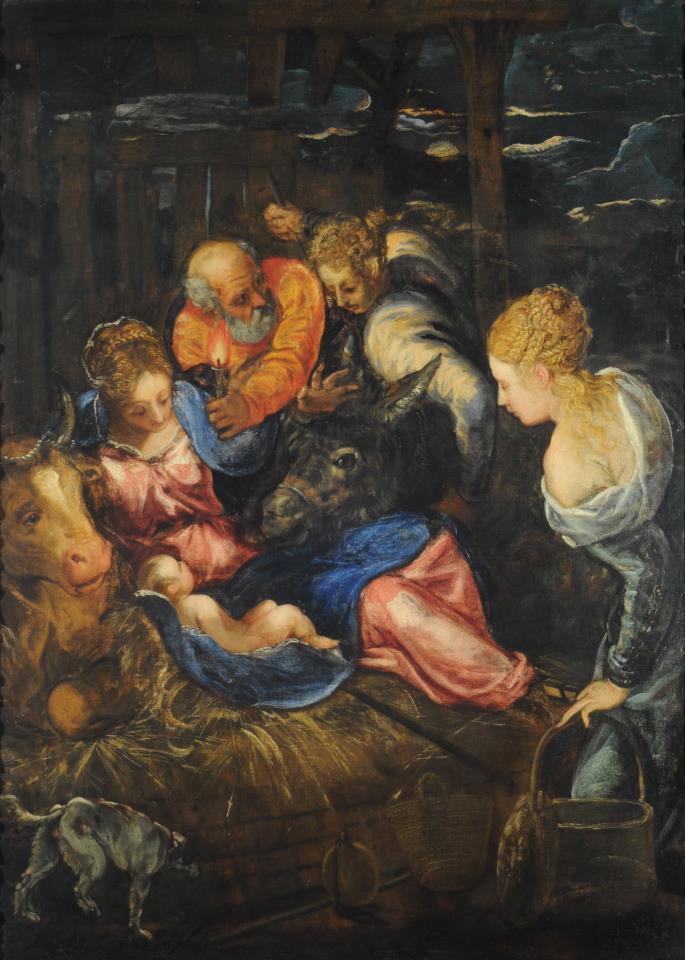Tintoretto Nativity
