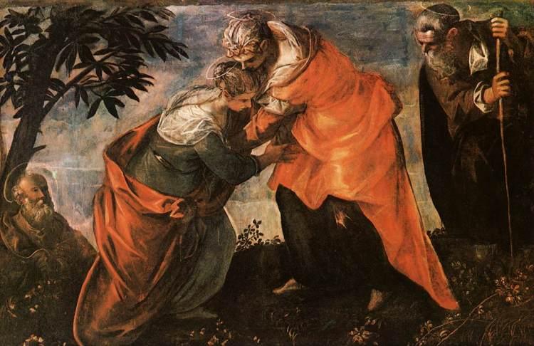 Tintoretto Visitation
