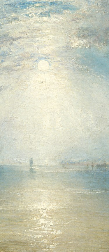 Turner, Keelmen heaving in coal by moonlight