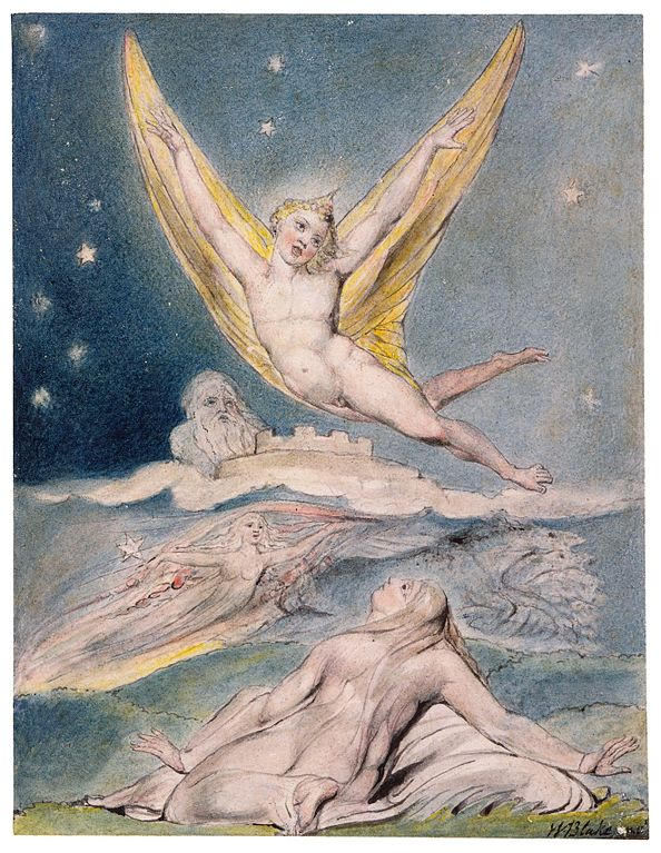 William Blake, Night startled by the lark