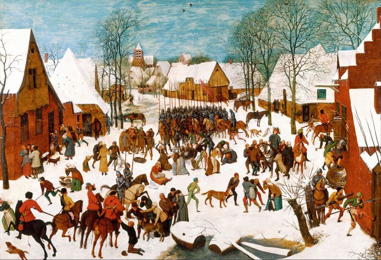 Bruegel, massacre of the innocents