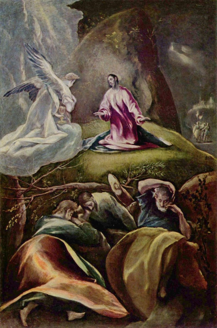 El Greco, the agony in the garden