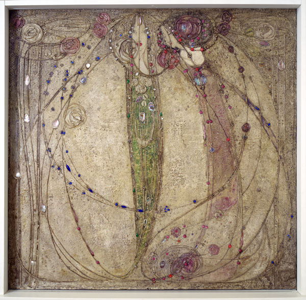 Margaret Macdonald, the white rose and the red rose