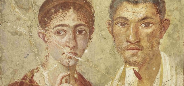Pompeii, the baker and his wife
