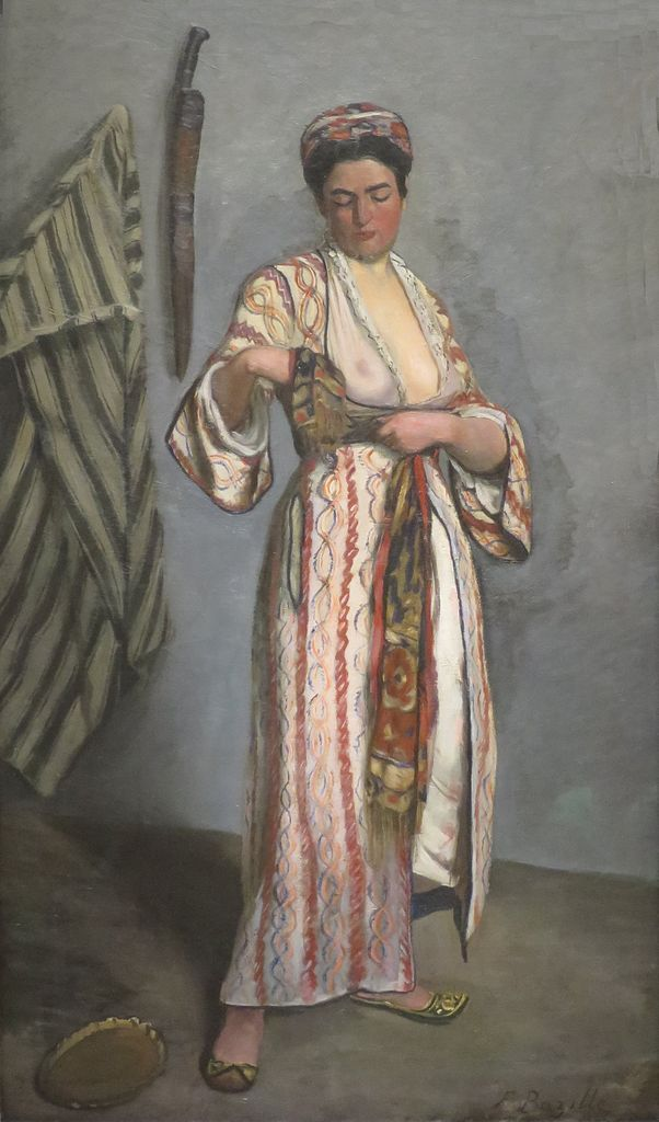 Bazille, Woman in moorish costume