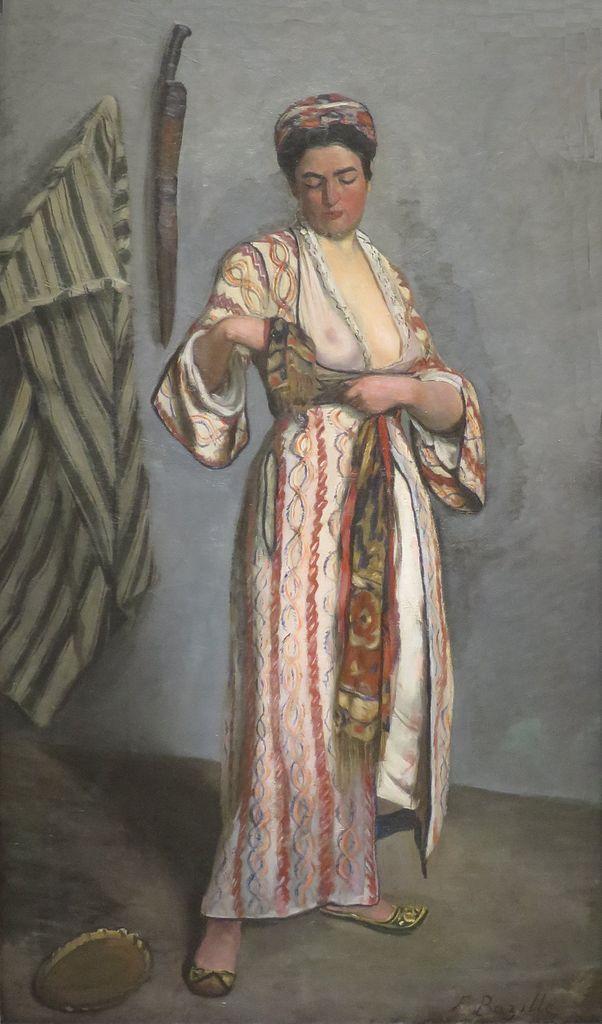 Bazille, Woman in moorish costume