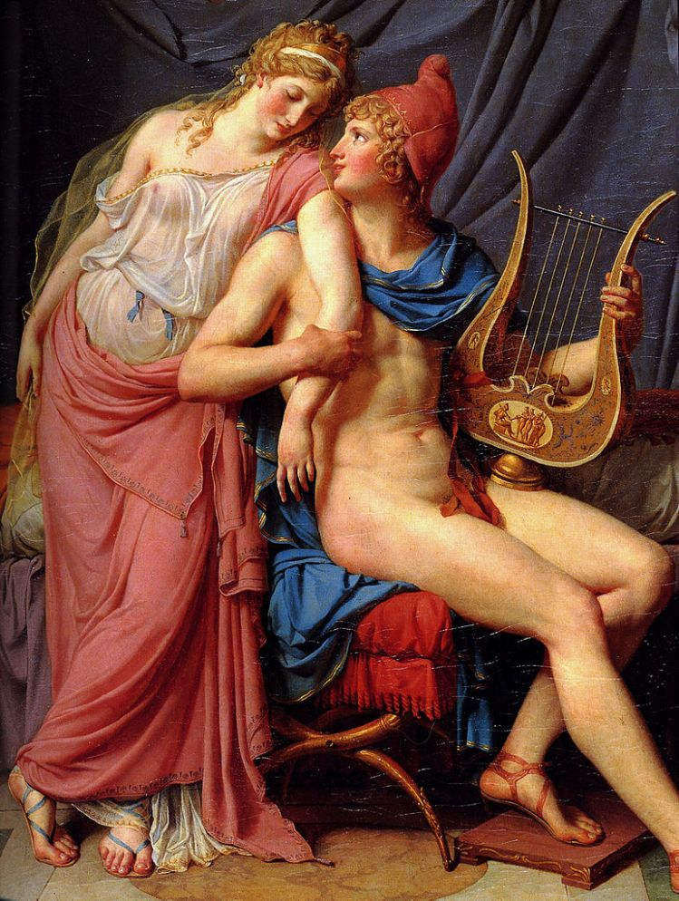 Jacques-Louis David, Helen and Paris