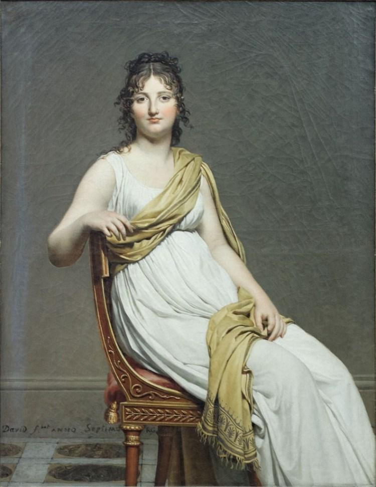 Jacques-Louis David, Portrait of Madame de Verninac