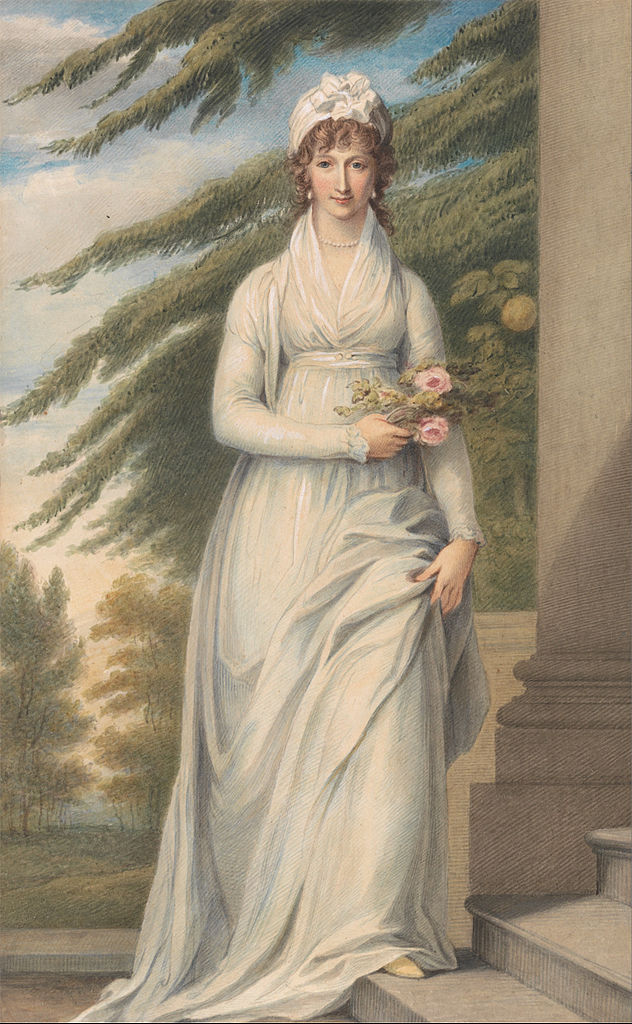 John Masey Wright, portrait of Mrs. Martha Udney