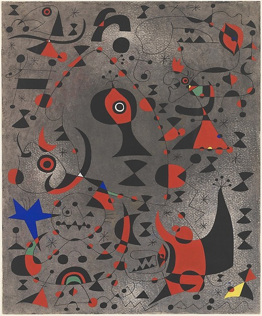 Miro, constellation- toward the rainbow