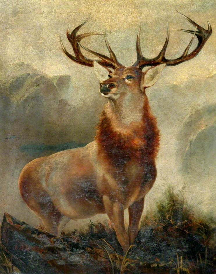 Stag at bay, James Ford
