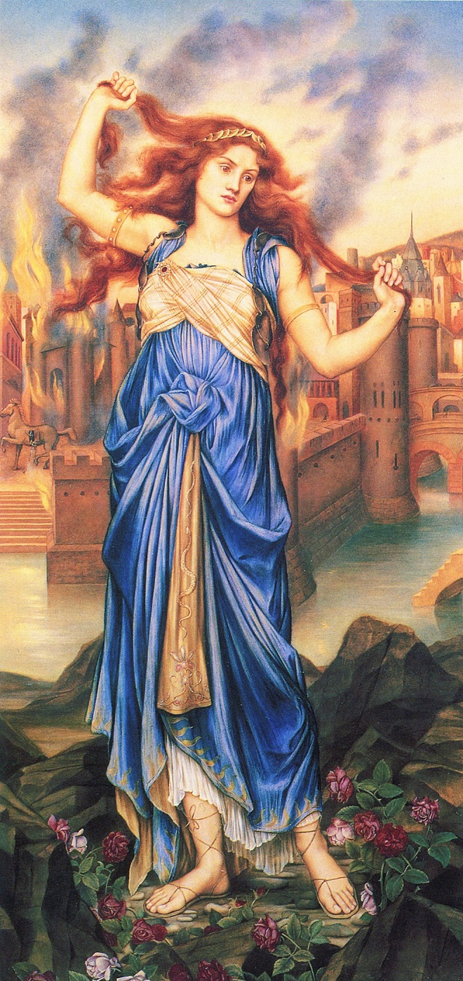 Evelyn de Morgan, Cassandra