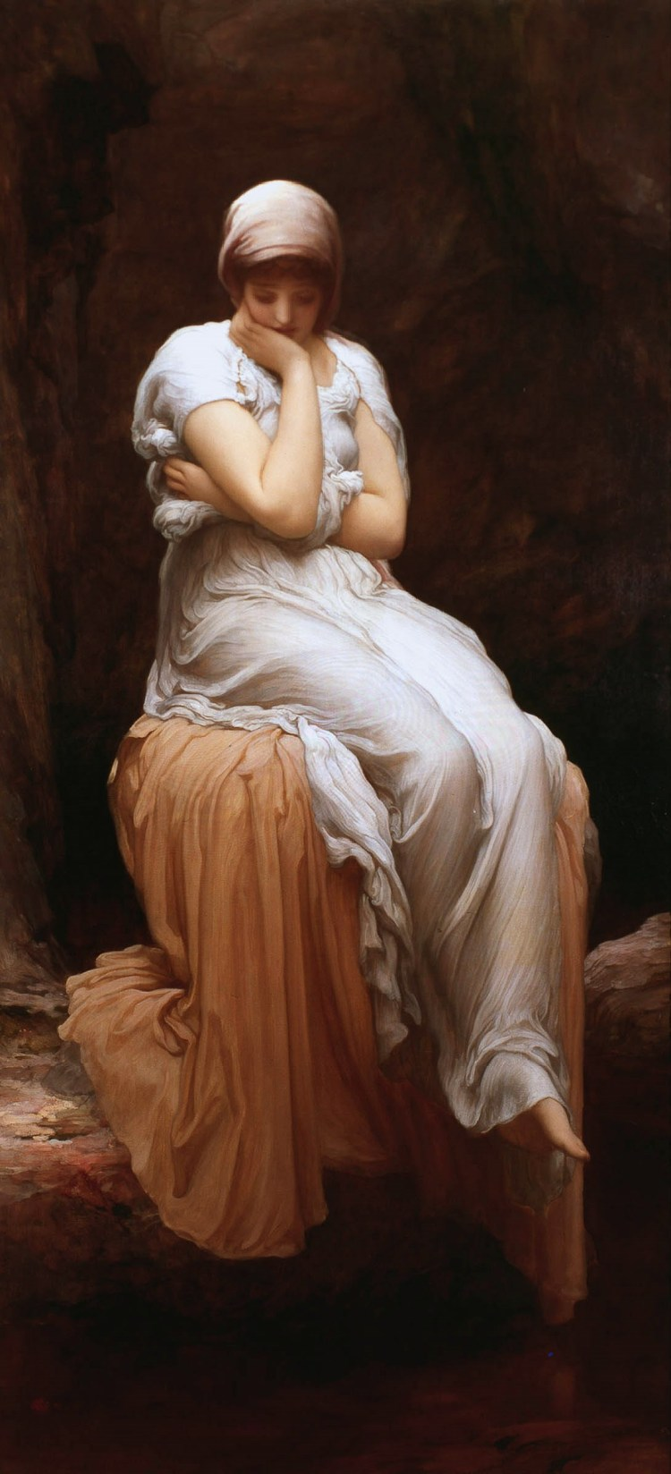 Solitude, by Frederic Leighton