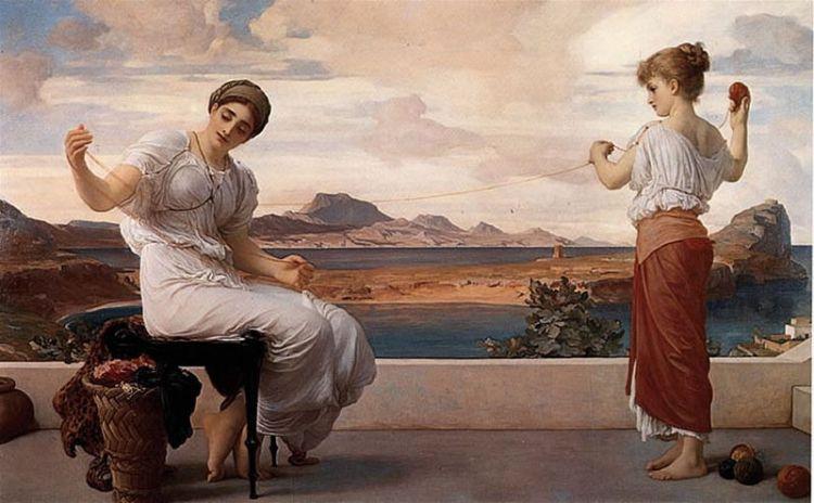 Frederic Leighton, Winding the skein