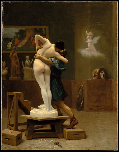 Jean-Léon Gérôme,Pygmalion and Galatea