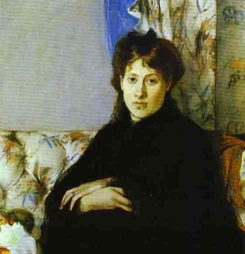 Morisot, Portrait de Madame Edma Pontillon, née Edma Morisot, soeur de l'artiste
