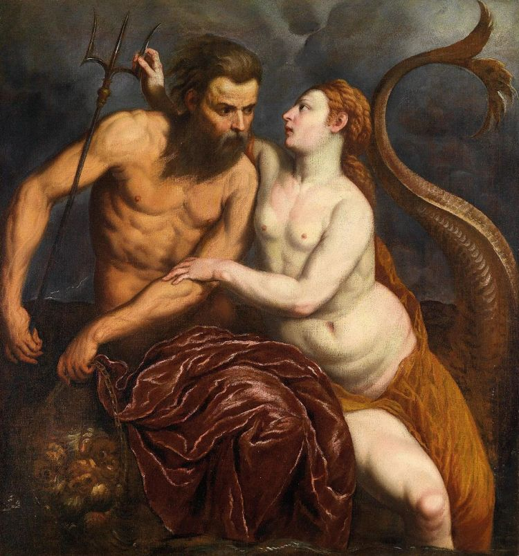 Paris Bordone- Neptune and Amphitrite