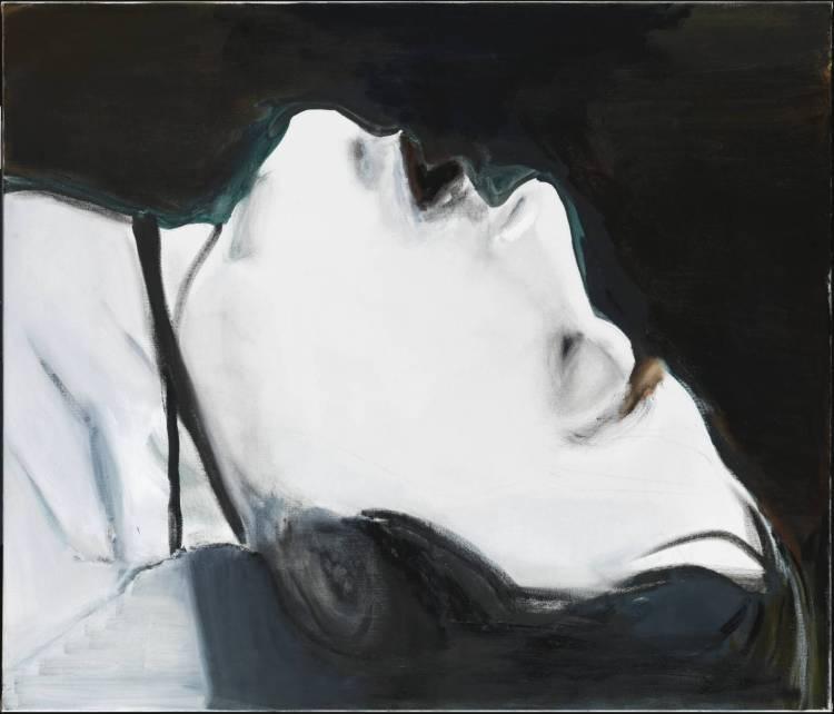 Stern 2004 by Marlene Dumas born 1953