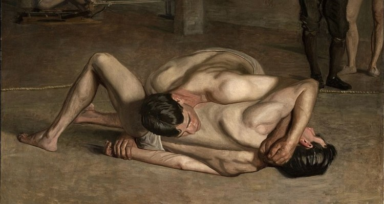 Thomas Eakins, The Wrestlers