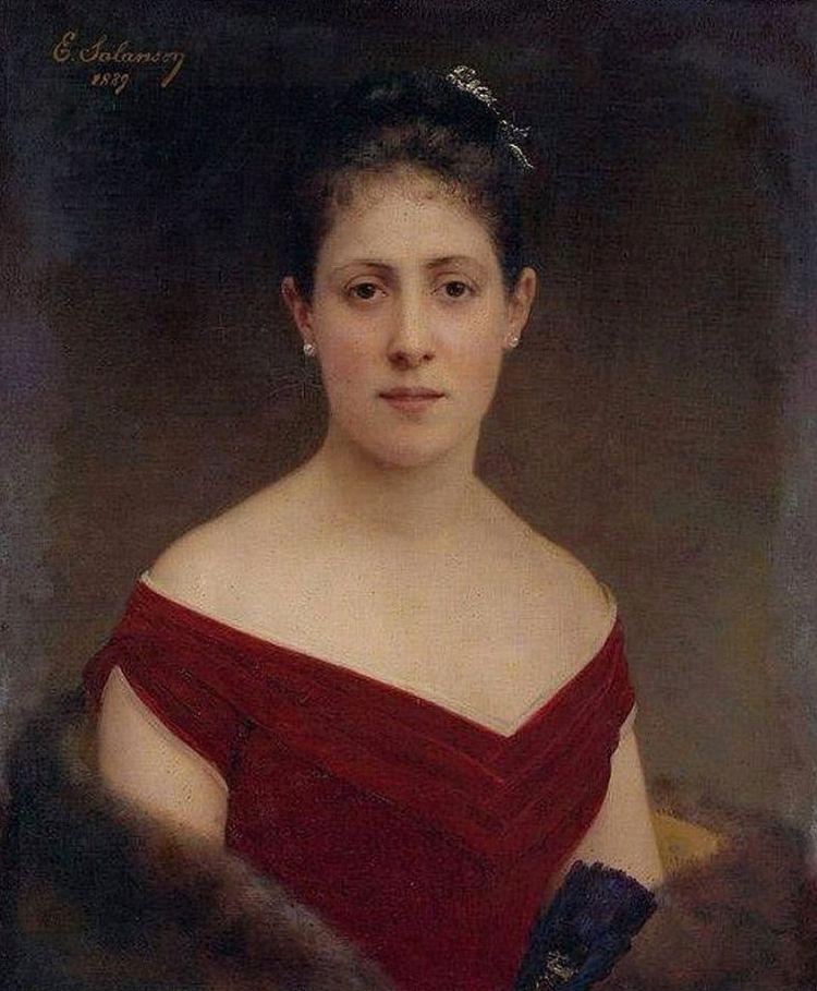 Eugénie Salanson-Marquise de Croix