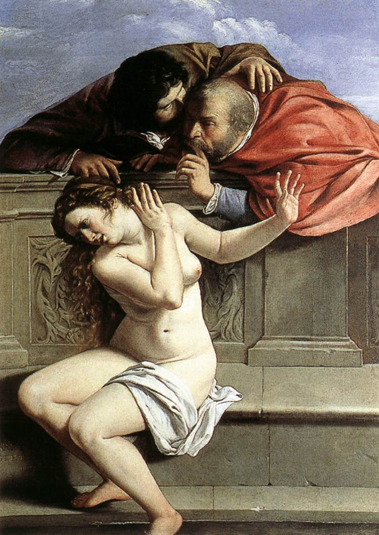 Gentileschi, Susannah and the Elders 1