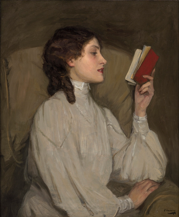 John Lavery, Miss Auras, The Red Book