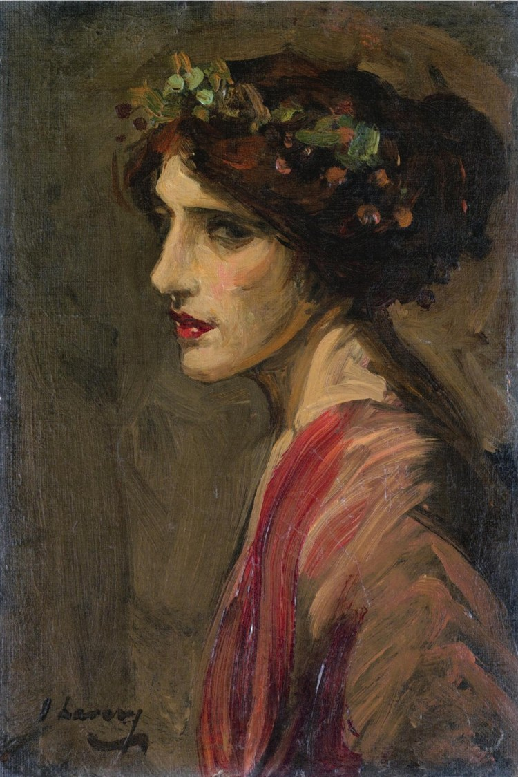 John Lavery, Portrait of a Lady, thought to be Mrs Ralph Peto