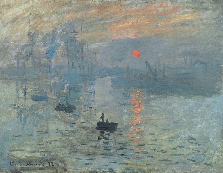 Monet, Impression, soleil levant