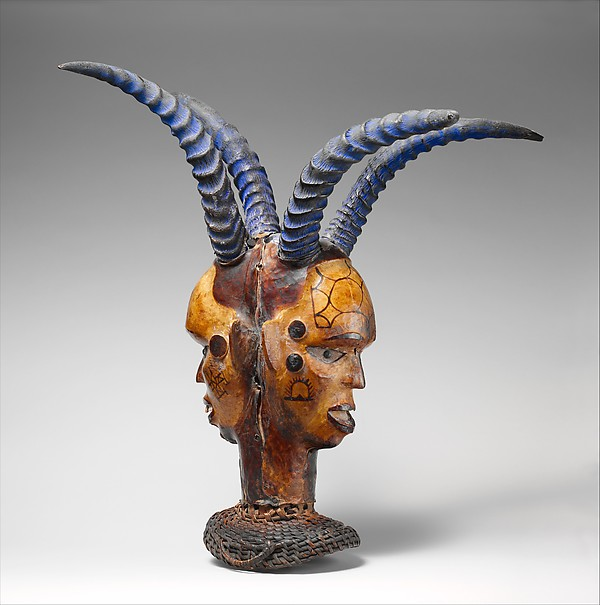 Nigeria, Ejagham headdress