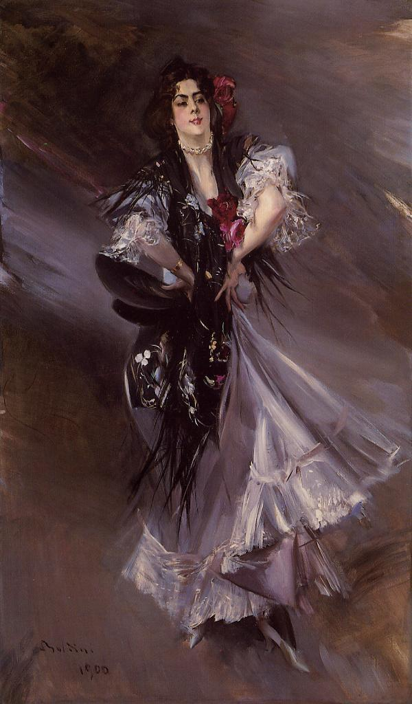 Boldini, Anita de la Ferie, The Spanish Dancer