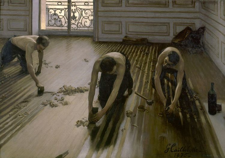 Gustave Caillebotte, the floor planers