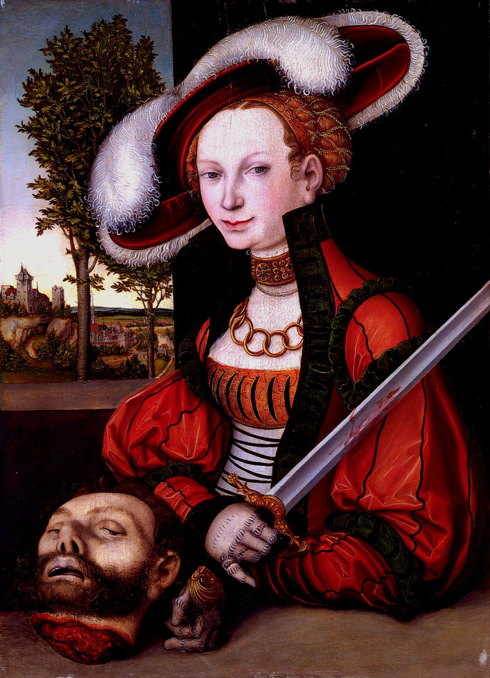 Cranach, Judith and Holofernes II