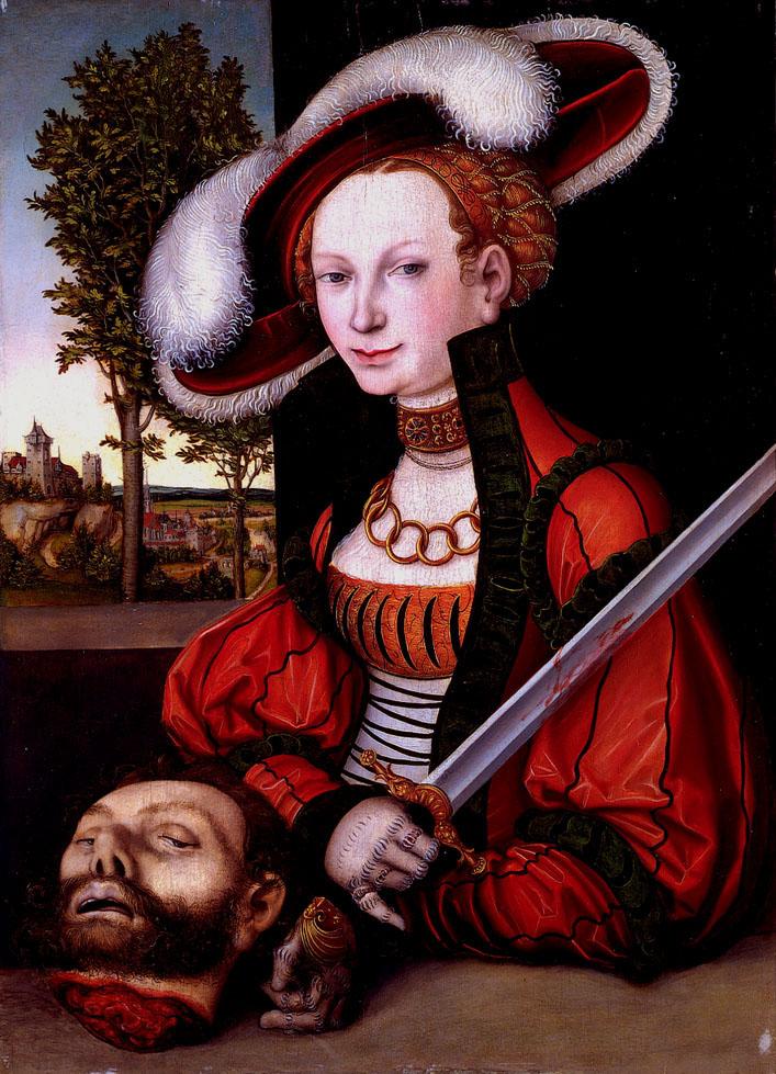 Cranach, Judith and Holofernes II