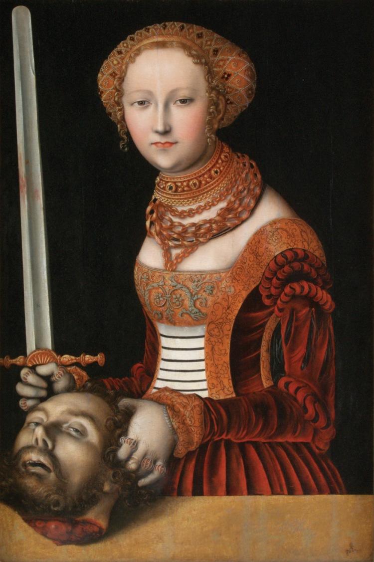 Cranach, Judith and Holofernes III
